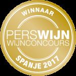 Perswijn Spaans Wijnconcours 2017 Winnaar