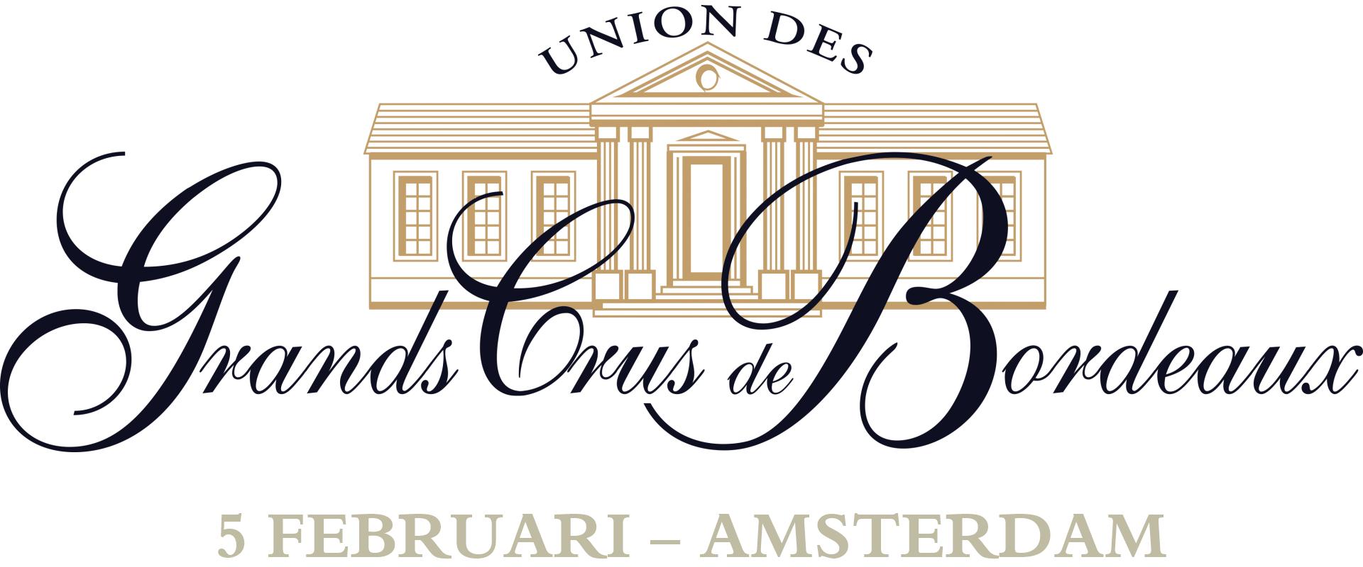 Union des Grands Crus de Bordeaux proeverij logo