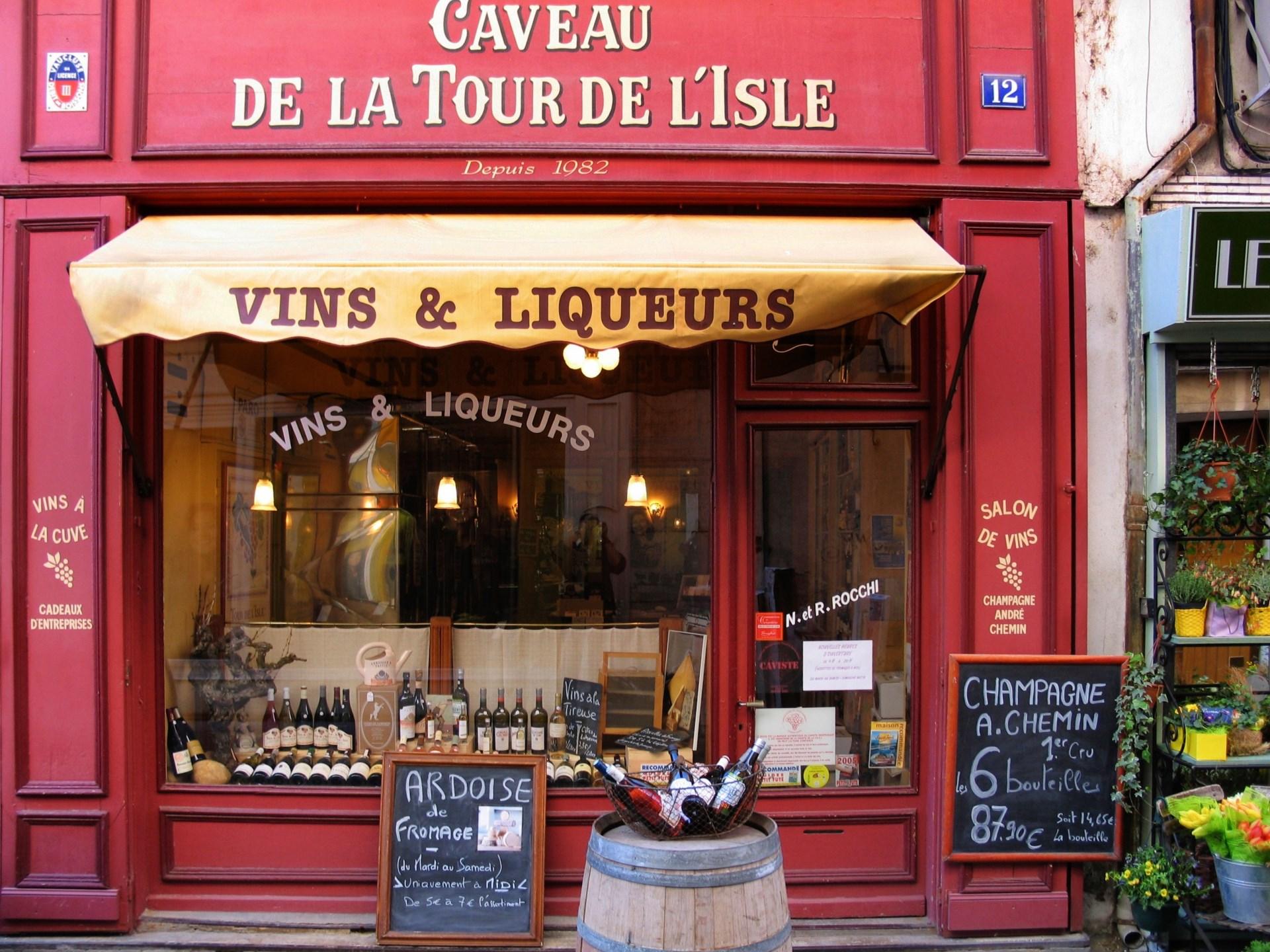 Franse-wijnwinkel
