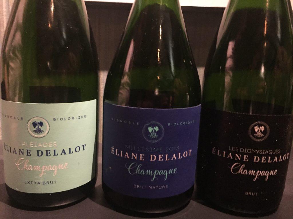 Champagnes van Jérôme Lefèvre