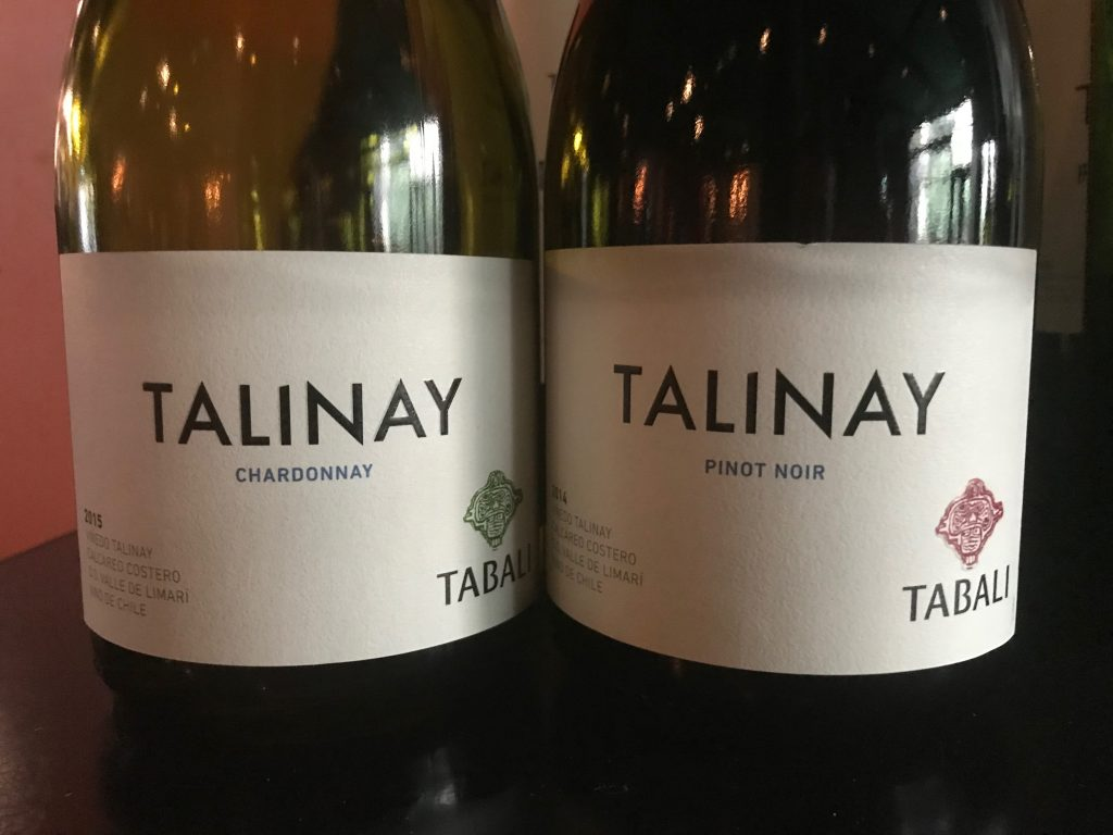 Tabali Talinay Chardonnay en Pinot Noir