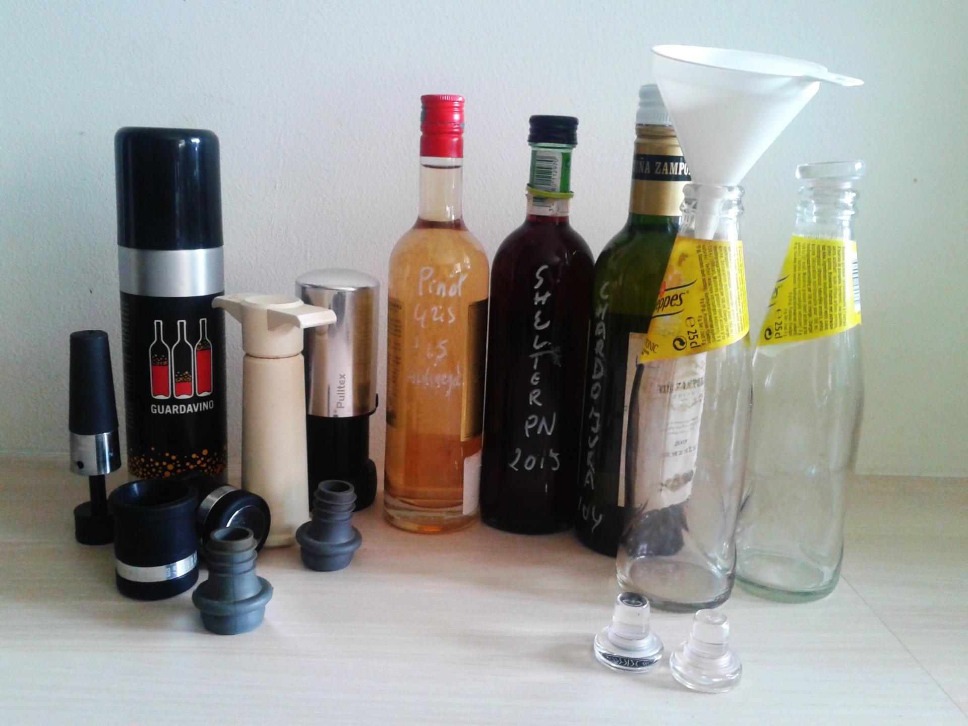 De Truc met de kleine flesjes