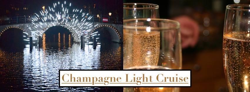 Brouzje | Champagne Cruise – Amsterdam Light Festival